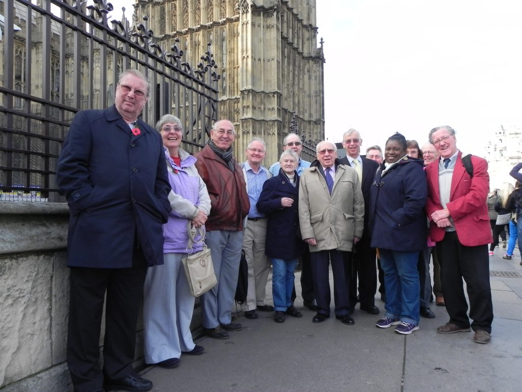 Photo: Delegation at Parliament Nov 2014
