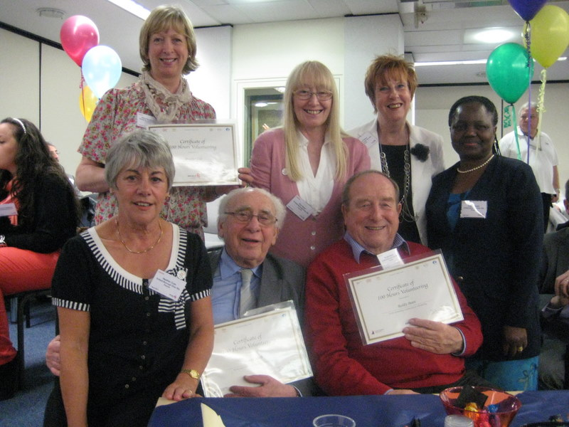 Photo: Enfield recognizes forum Volunteers