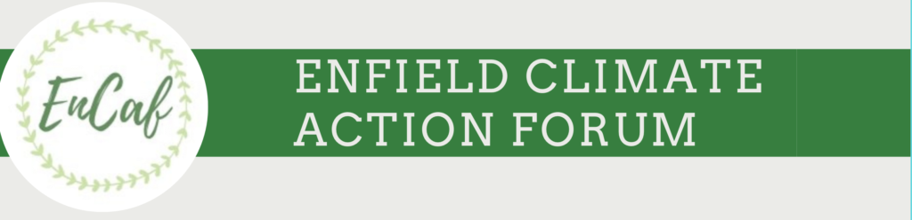 Enfield Climate Action Forum masthead